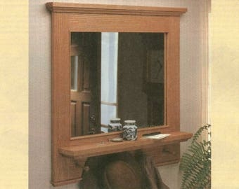 Hall Mirror Woodworking Plans