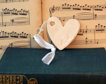 Wedding Day Heart, Write a Message to the Bride and Groom on this handmade Wedding Favour, Champagne Breakfast, Wedding Meal, Table Decor.