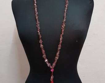 Long Mineral necklace