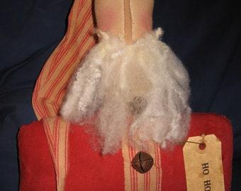 Miles to go Santa in jammies –shelf sitter