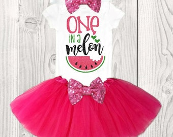 watermelon first birthday outfit girls first birthday outfit summer first birthday outfit melon first birthday outfit pink watermelon