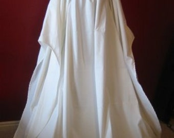 Full-length Beautiful Angel Chemise Renaissance Under Dress many COLORS and SIZES available