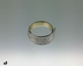 Bronze and Silver ring