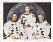 Apollo 11 Crew Photo-lith...
