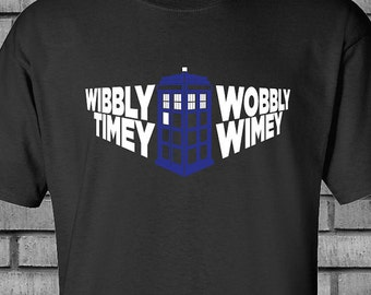 """Doctor Who """"Time in Perspective"""" Tardis T-shirt"""