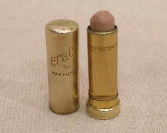 Vintage Max Factor metal Lipstick, Erace by Max Factor