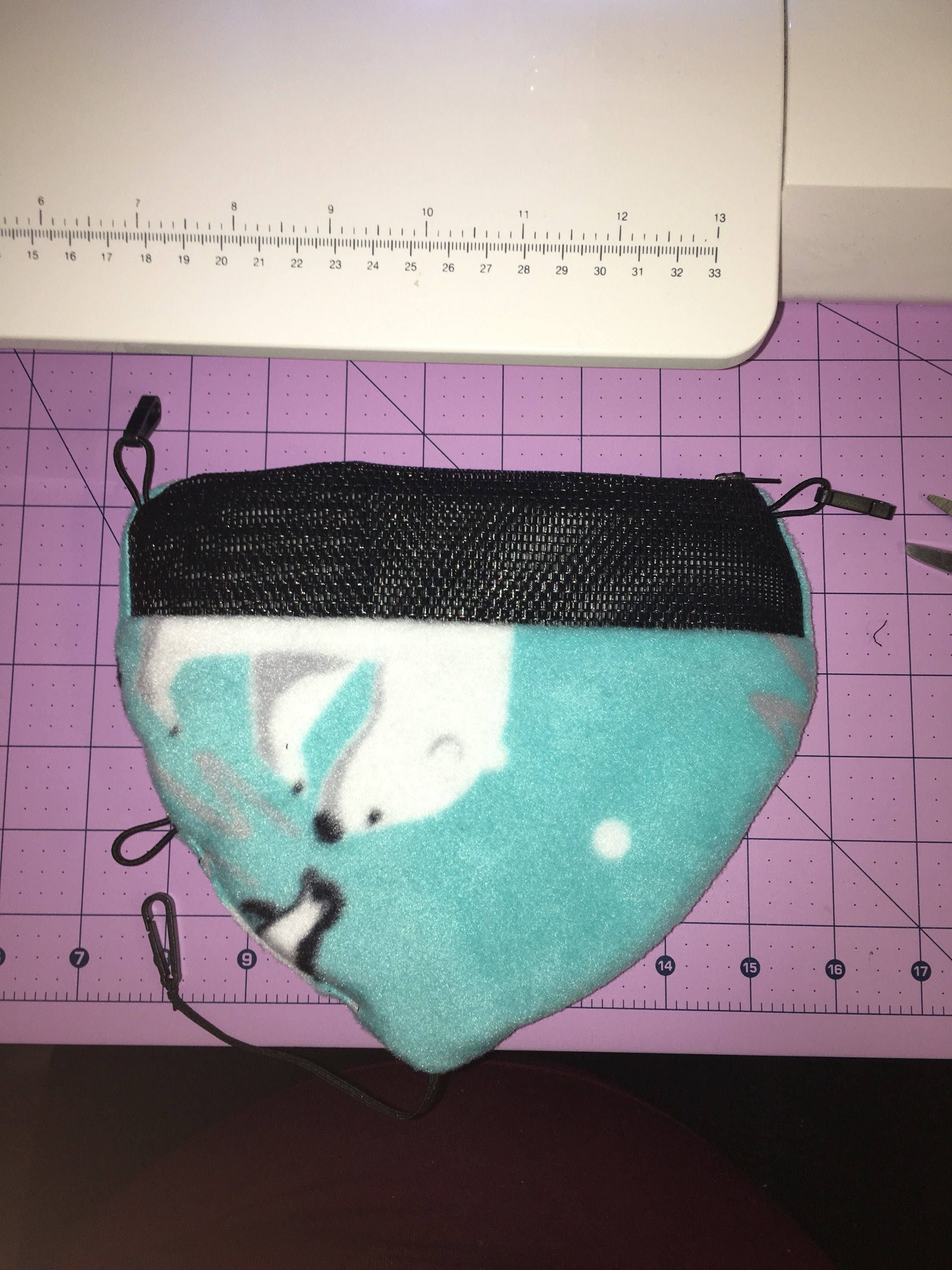 how to make a sugar glider bonding pouch without sewing