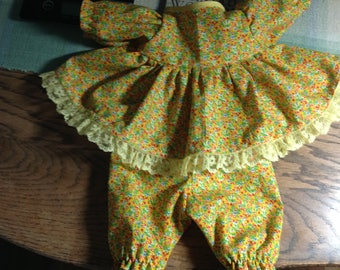 """Handmade 15"""" Doll Clothes, a 16"""" Doll Clothes, 15"""" Baby Doll Clothes, 16 Inch Doll Clothes, 15 inch Doll Clothes, 16"""" Baby Doll  Clothes"""
