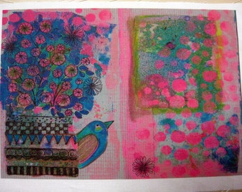 Fabric Sketchbook Page 6