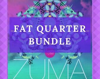 PRE-ORDER Tula Pink Zuma Fat Quarter Bundle, 22 Pc Fat Quarter Bundle, Tula Pink Pre-Cut Bundle, FQ Bundle, Tula Pink Fat Quarter Bundle