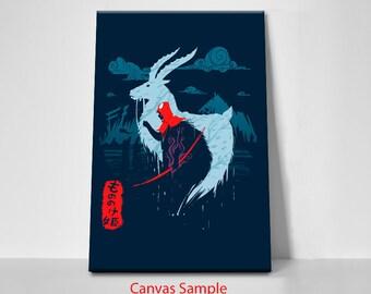 Studio Ghibli, Princess Mononoke, Ashitaka Art