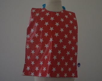 Elasticated waterproof and reversible wild west/star towel