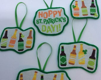 Happy St. Patrick's Day Ornaments