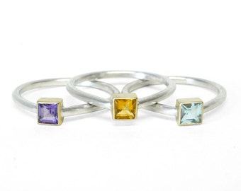 Colorful Stack Ring