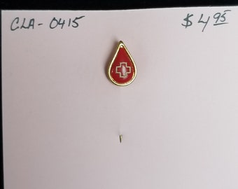 Hat Pin- Red cross