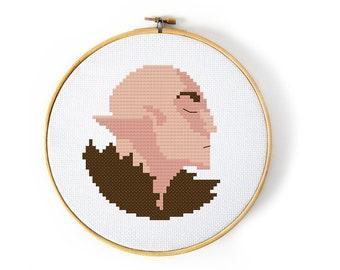Dragon Age Solas Cross Stitch Pattern