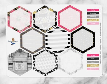 InkWell Press Hexagon Stickers | B013