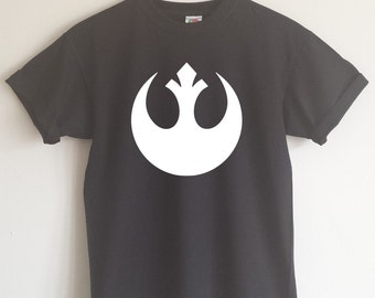 Star Wars Rebel Alliance Logo T-shirt - All Sizes And Various Colours