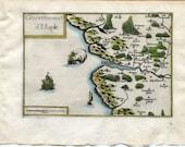 1634 Nicolas Tassin Map E...