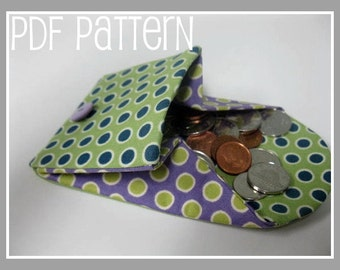 Coin Purse / Wallet PDF Pattern