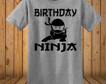 Birthday Ninja Shirt