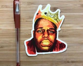 Rapper Vinyl Sticker, Hip Hop Music Stickers, Vinyl Decal, Hip Hop, Rap Music Gift, Handmade Stickers, Waterproof Stickers