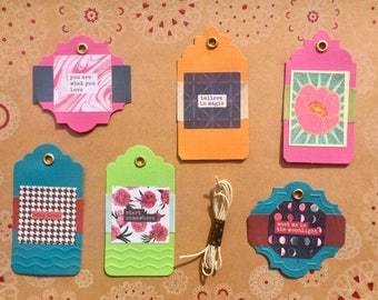 Believe In Magic Gift Tag Set of 6 (#3)