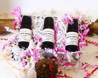 Mothers Day Gift Set! Fragrance Oils Gift Set -3 1/2 oz Bottles - best oil diffuser, diffuser oil for,home fragrance for,diffuser for oils,