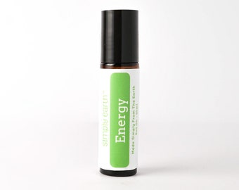Energy Essential Oil Blend Roll On 10ml   100% Pure
