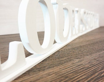 Wedding decor, Love Is Sweet, Wooden sign