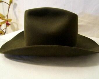 Cowboy Hat, Westchester Imperial 12X Western Cowboy Hat, Cowboy Hat Size 7 1/4