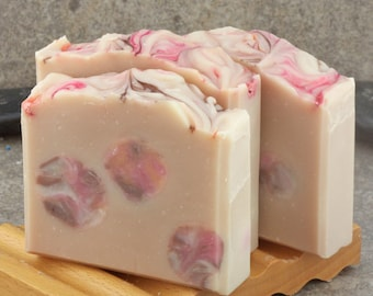 Indian Sandalwood Scented Decorative Cold Process Soap