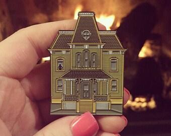 SECONDS Psycho House Enamel Pin (w/ minor flaw)