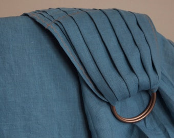 """The Perfect Linen Ring Sling with Copper Rings (Size Large/92"""")"""