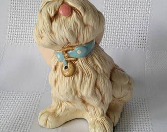 Pendelfin Tammy Dog Stonecraft Figurine, Blue Collar.