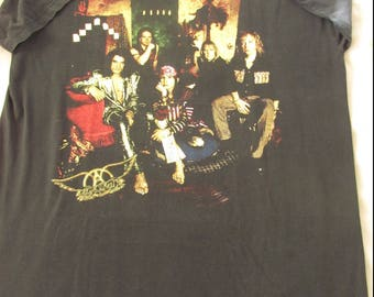Aerosmith Nine Lives 1997 North American Tour Official Concert Shirt Adult Size