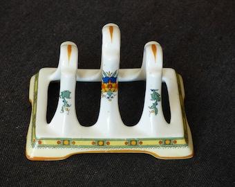 Porcelain vintage toast rack.