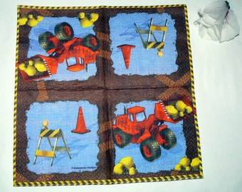 2  images Napkins from Holland construction
