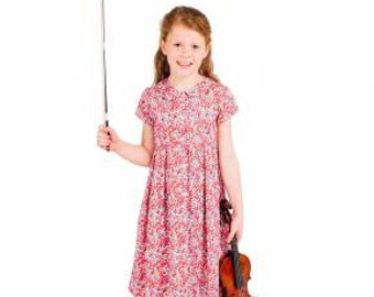 Children's Corner Sewing Pattern Emily Dress Sizes 5-7