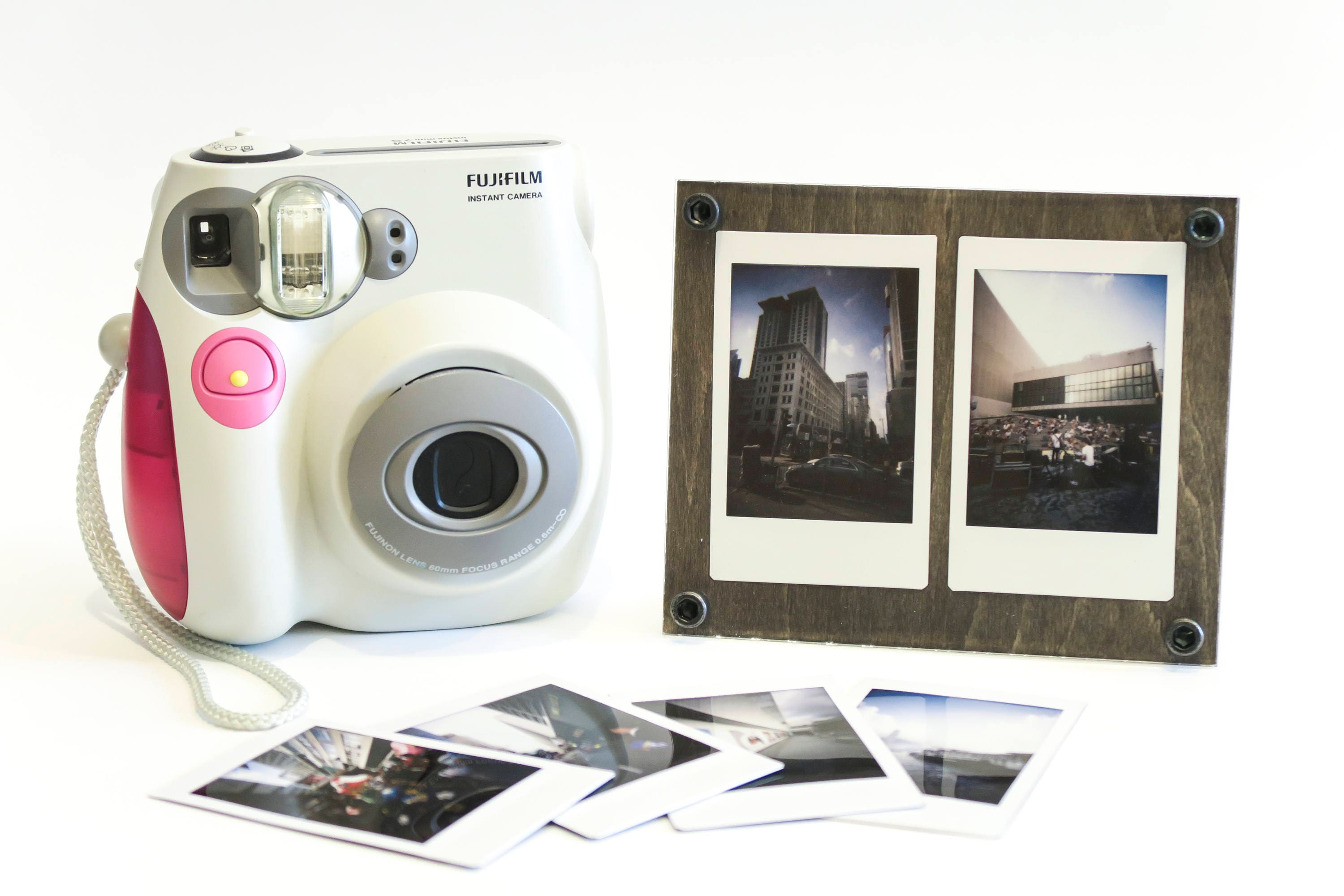 Wood Photo frames, Photo holder, Photo Stand for Instax Mini Film or ...