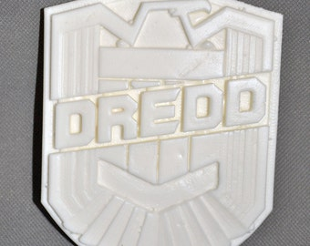 Judge Dredd 3d 1:1Scale Movie Replica Badge Resin Raw Cast