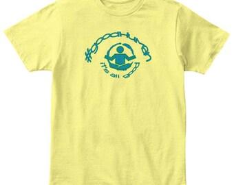 It's all good, #goodhuman youth t-shirt