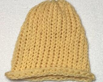 Hello, Yellow - Newborn Hat