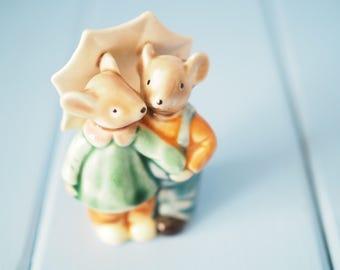 Golden Rose Giftware ceramic mice