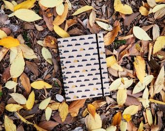 travel notebook, sketchbooks, kraft travel journal, travel journal handmade, recycled paper, paper kraft, mountain lovers, hiking