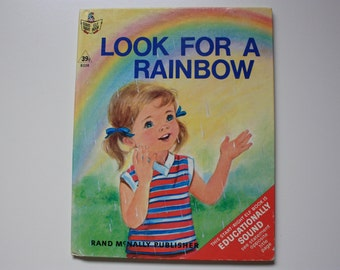 Look For A Rainbow by Evelyn Swetnam  Rand McNally Publisher Start Right Elf Book