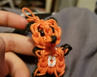 Fox rubber band charm