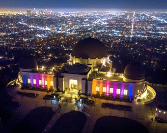 Griffith Observatory Downtown Los Angeles