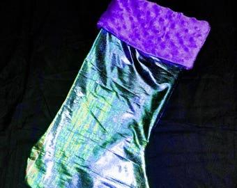 Mermaid pattern stocking