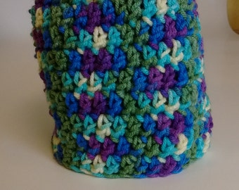 Crocheted Preemie Infant Cap